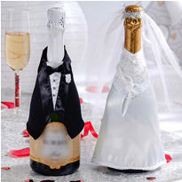 Wedding Celebration Champagne Bottle Wear