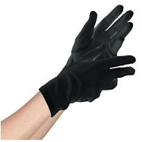 Teen Black Gloves