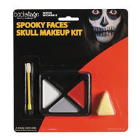Spooky Faces Skull Makeup Kit