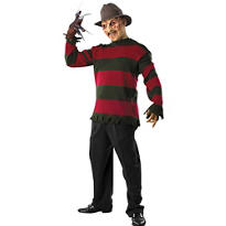 Adult Freddy Krueger Sweater Deluxe - Nightmare on Elm Street
