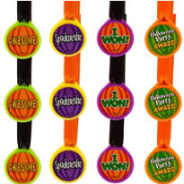 Halloween Award Medal Assortment 12ct