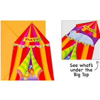 Jumbo Circus Invitations 8ct
