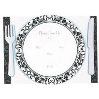 Dinner Party Jumbo Invitations 8ct