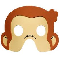 Curious George Masks 4ct