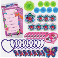 Glitzy Girl Favor Pack 48pc