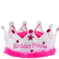 Princess Birthday Crown Party Hat