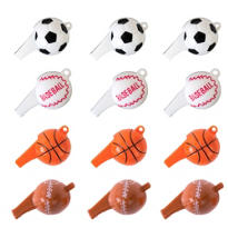 Sports Ball Whistles 12ct
