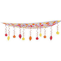 Fall Leaf Ceiling Decoration 12ft