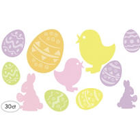 Easter Cutouts 30ct