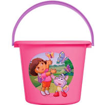 Plastic Dora The Explorer Easter Bucket