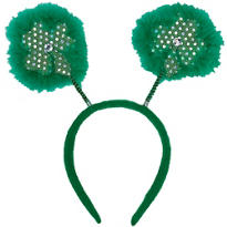 St. Patricks Day Clover Head Bopper