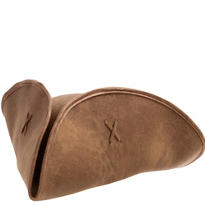 Brown Suede Pirate Hat
