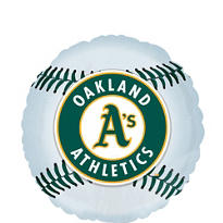 Oakland Athletics Foil Balloon 18in