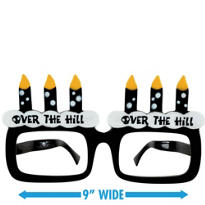 Over the Hill Birthday Glasses