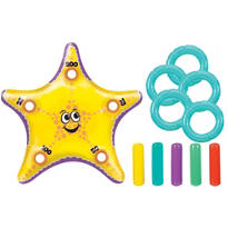 Inflatable Starfish Ring Toss Game 29in