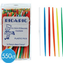 Plastic Toothpicks 550ct