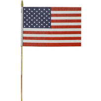 Medium American Flag 12in