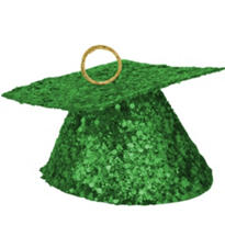 Green Graduation Balloon Weight 6oz