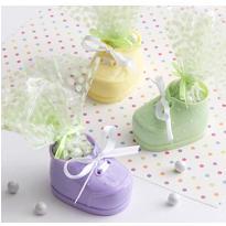 Multicolor Bootie Baby Shower Favor Kit 12ct