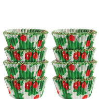 Holly Mini Candy Cups 200ct