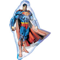 Foil Superman Balloon 22in