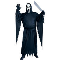 Adult Ghost Face Costume Plus Size - Scream