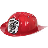 Red Firefighter Hat