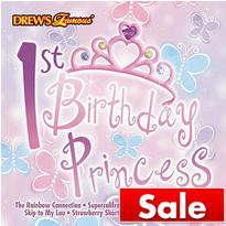 1st Birthday Princess CD