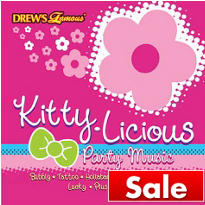 Kittylicious Party Music CD