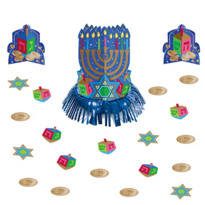 Hanukkah Table Decorating Kit 15pc