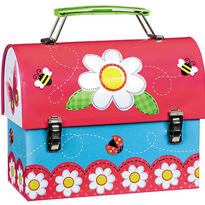 Garden Girl Large Tin Carry All