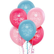 Latex Hello Kitty Balloons 12in 6ct