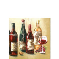 Wine Cellar Beverage Napkins 20ct