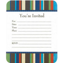 Tailored Value Pack Invitations 20ct