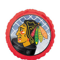 Foil Chicago Blackhawks Balloon 18in