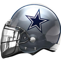 Dallas Cowboys Football Helmet Balloon 26in
