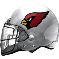 Arizona Cardinals Helmet Foil Balloon 26in