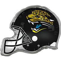 Jacksonville Jaguars Helmet Foil Balloon 26in