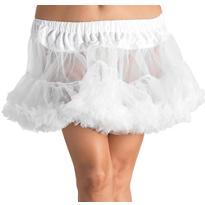 Adult White Crinoline Petticoat Plus Size