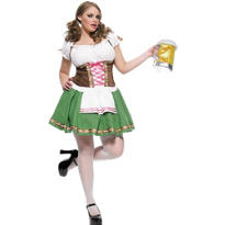 Adult Gretchen Oktoberfest Beer Maid Costume Plus Size