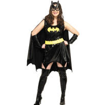 Adult Batgirl Costume Plus Size - Batman