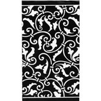 Black Ornamental Scroll Hand Towels 16ct