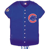 Chicago Cubs Pull String Pinata 23in x 18in