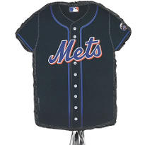 New York Mets Pull String Pinata 23in x 18in