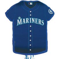 Seattle Mariners Pull String Pinata 23in x 18in