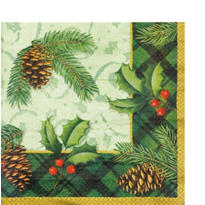 Season to Remember Dinner Napkins 16ct