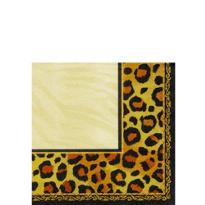 Leopard Print Beverage Napkins 16ct
