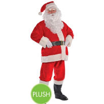 Adult Regal Plush Santa Suit XXL