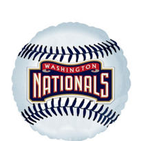 Washington Nationals Balloon 18in