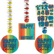 Year to Celebrate Custom Birthday Dangling Cutouts 3ct